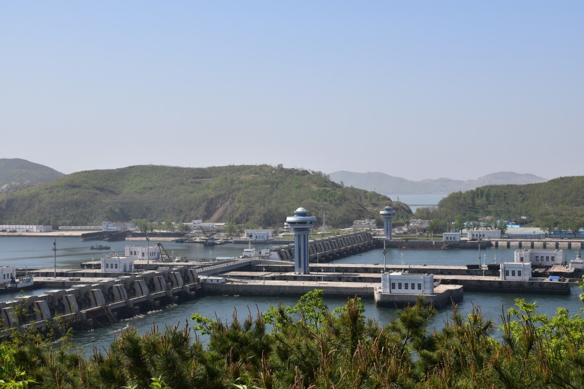 Nampo West Sea Barrage in DPRK